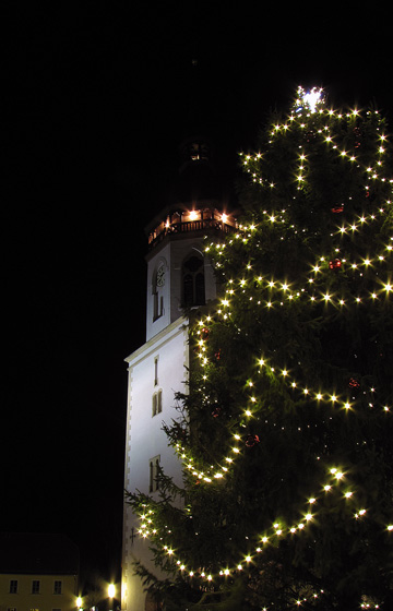 St. Laurentius zur Weihnachtszeit